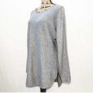 Michael Kors long sleeve zipper shirt dress